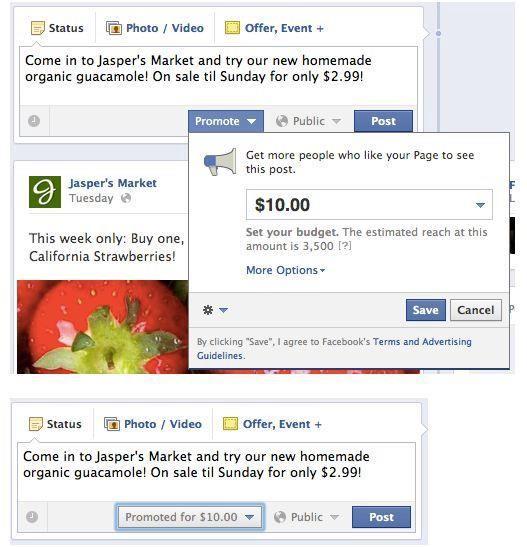 Facebook boost ()