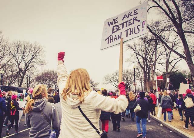 Trump protest ()