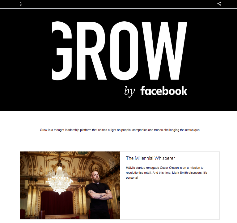 Grow by Facebook ()