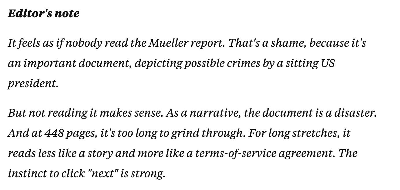 Mueller Report Business Insider ()