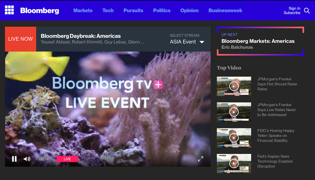 Bloomberg TV ()
