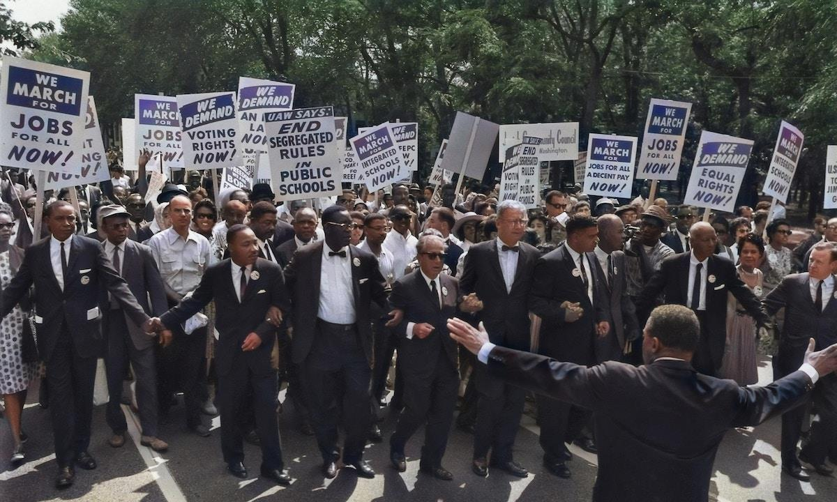 Martin Luther King march ()