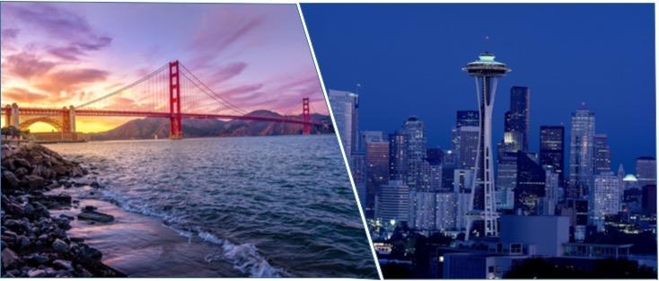 San Francisco Seattle ()