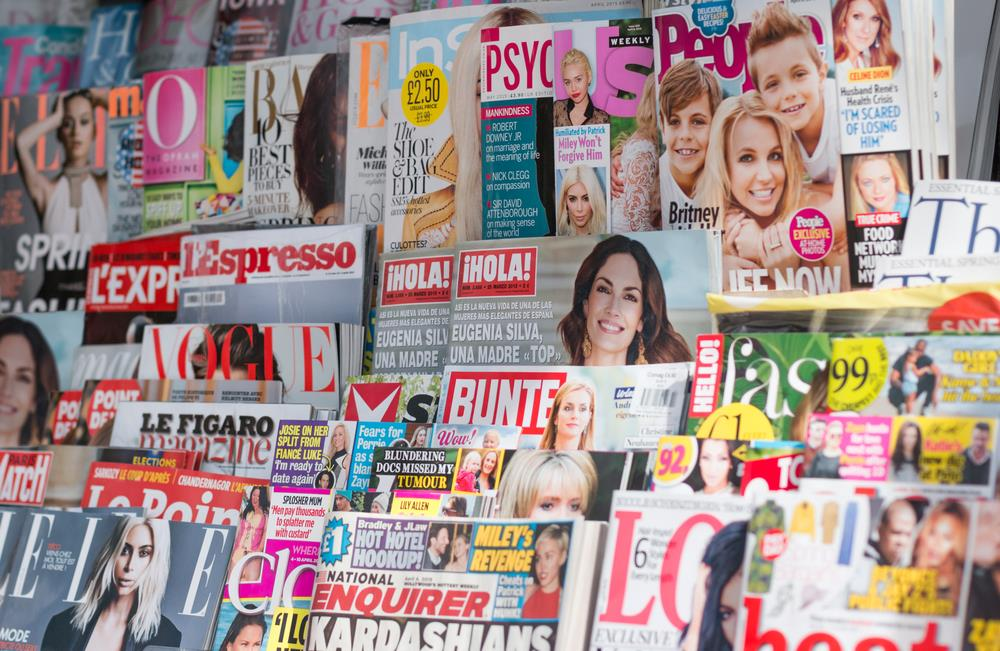 magazine newsstand ()