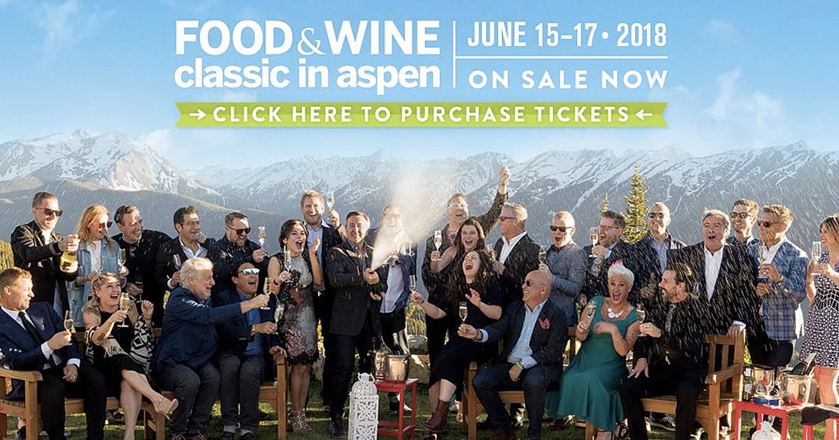 Food and Wine Classic Aspen header ()