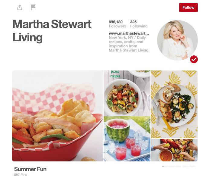 Martha Stewart Pinterest ()