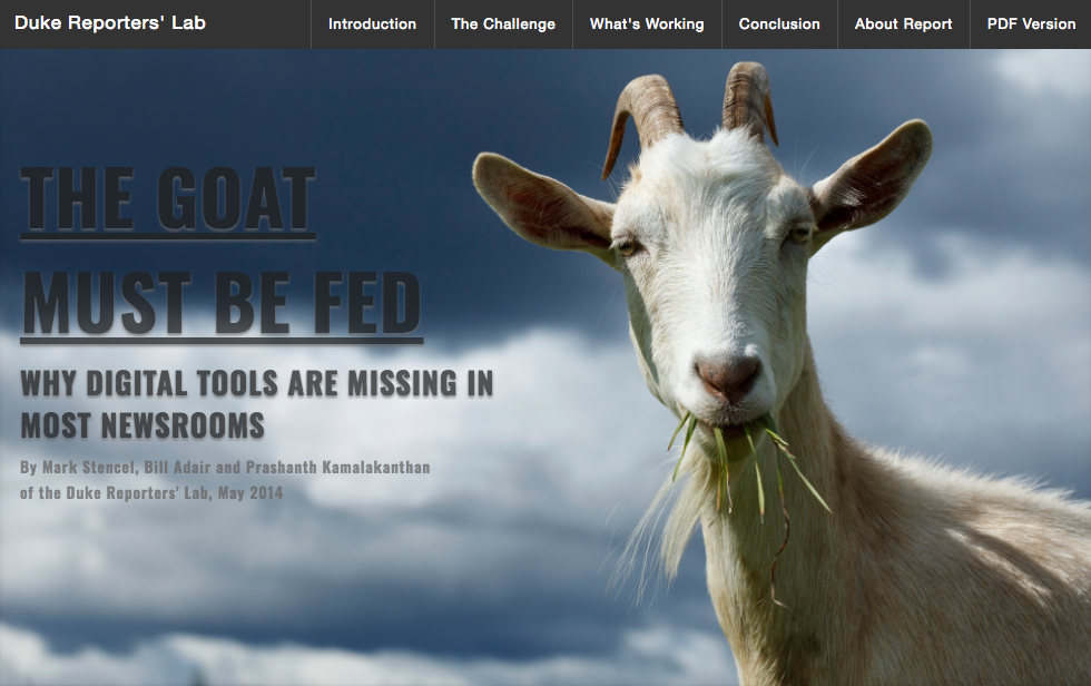 Goat must be fed ()