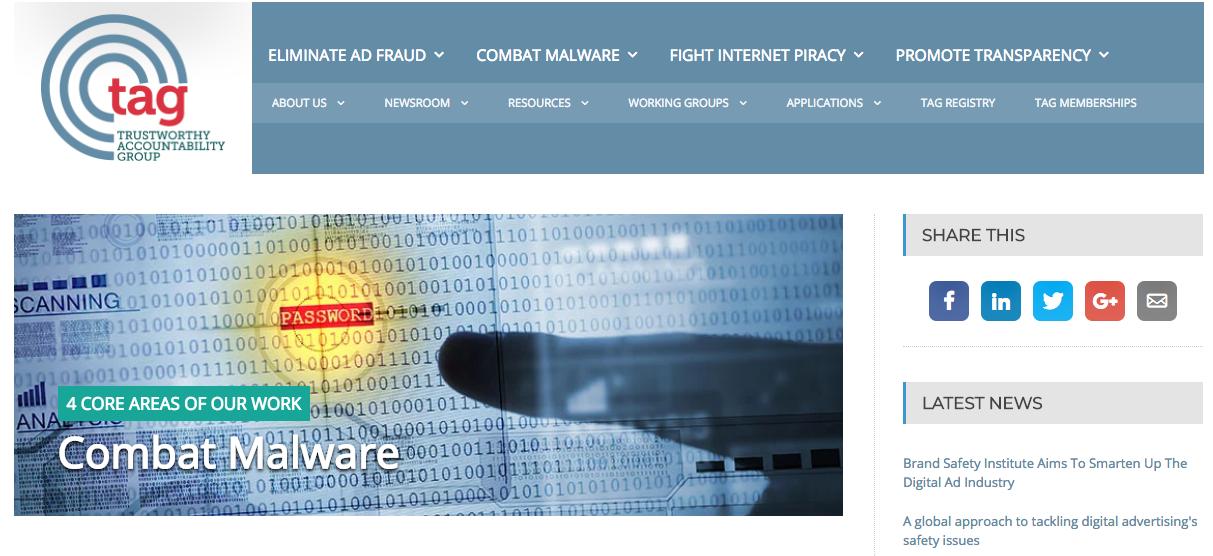 TAG homepage ()