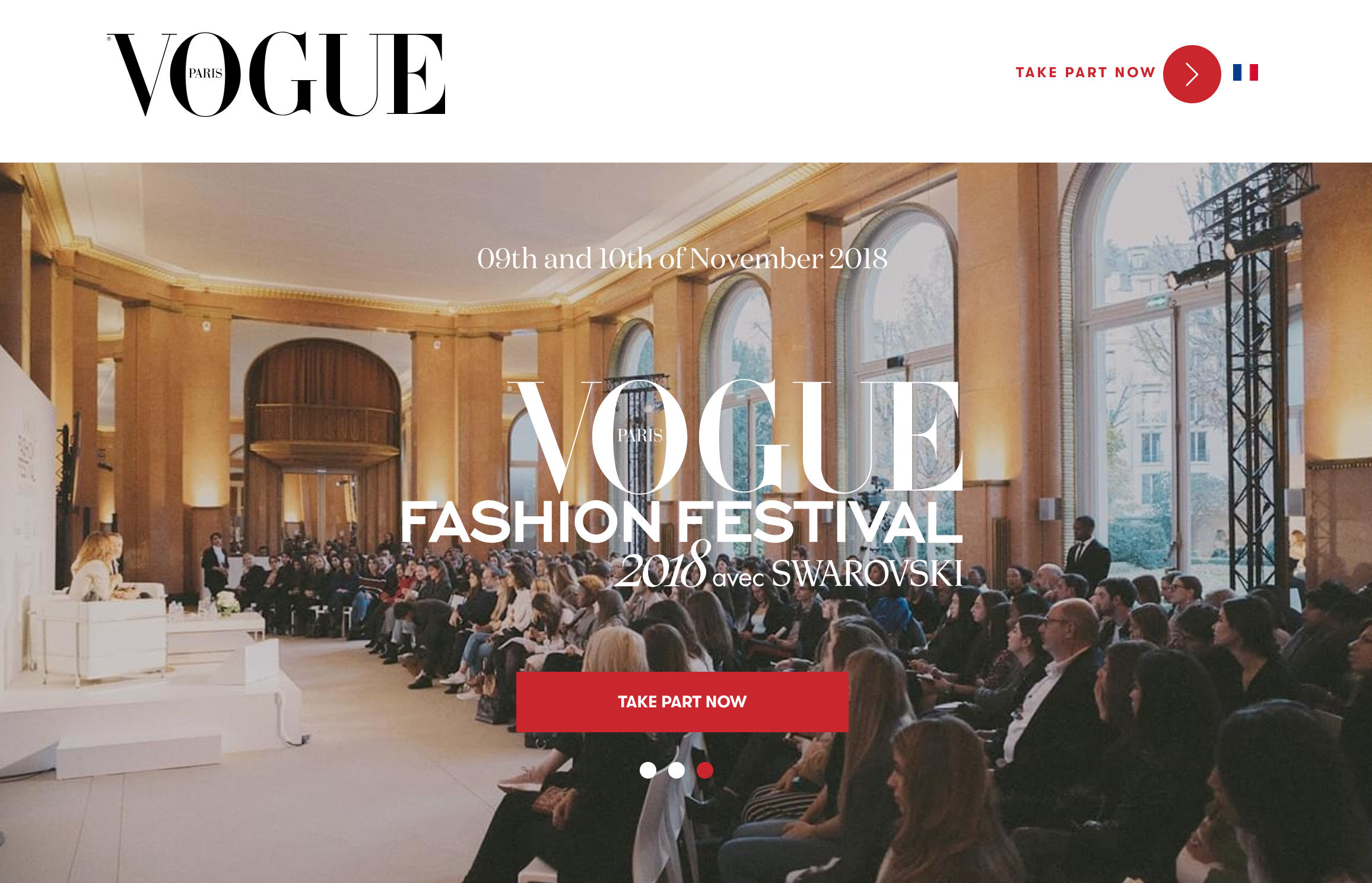 Vogue Paris conference ()