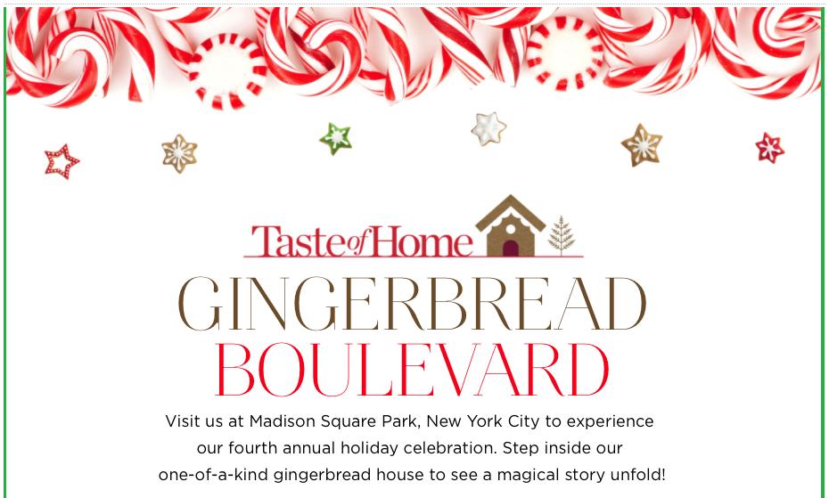 Gingerbread boulevard ()
