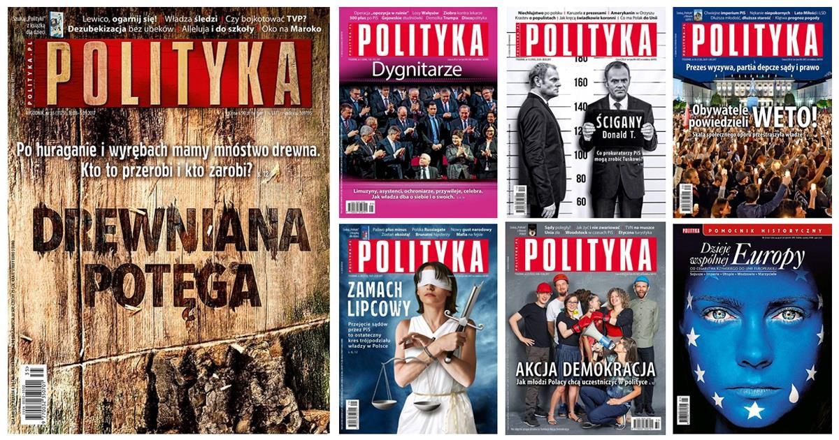 Polityka covers ()