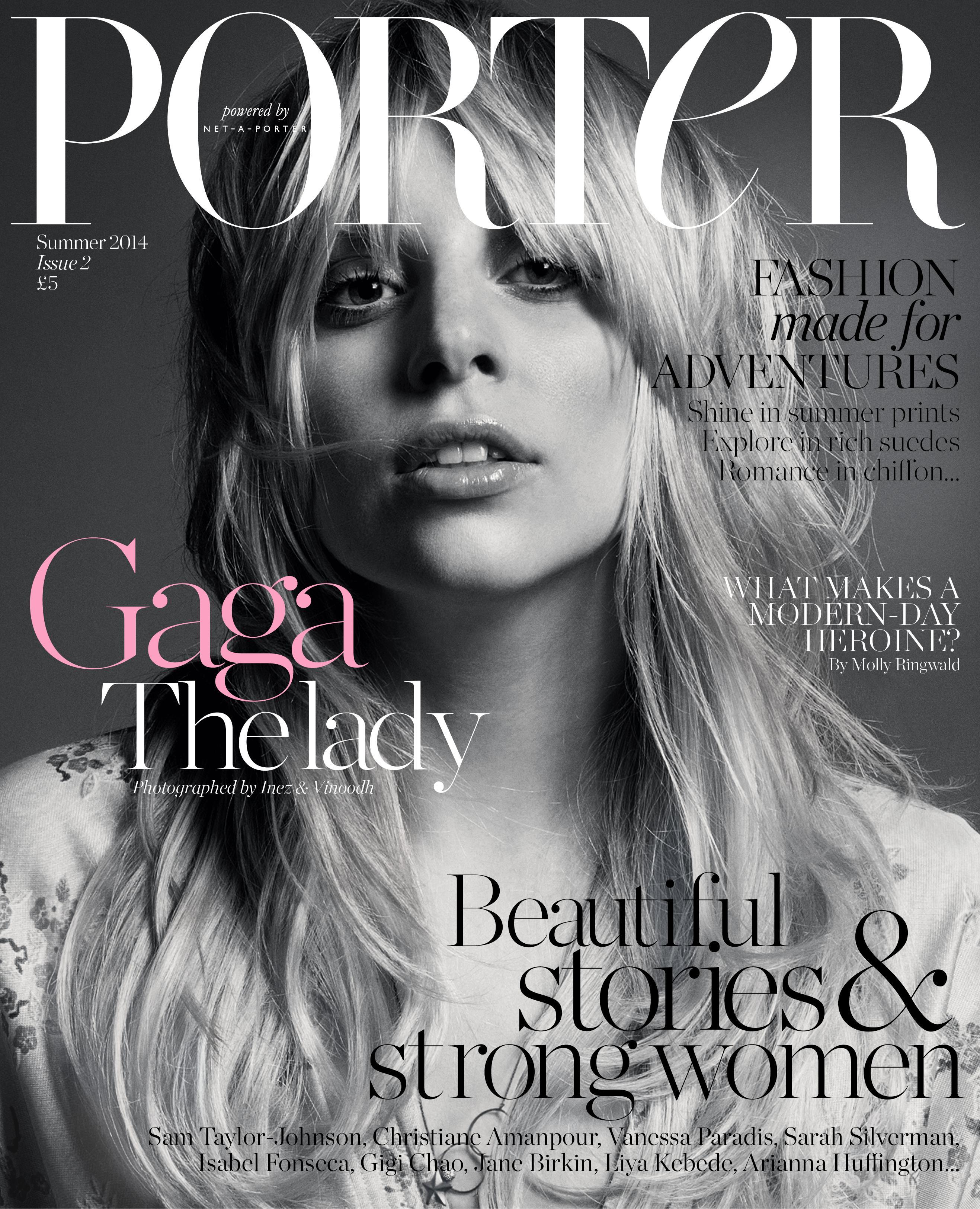 Porter Lady Gaga cover ()