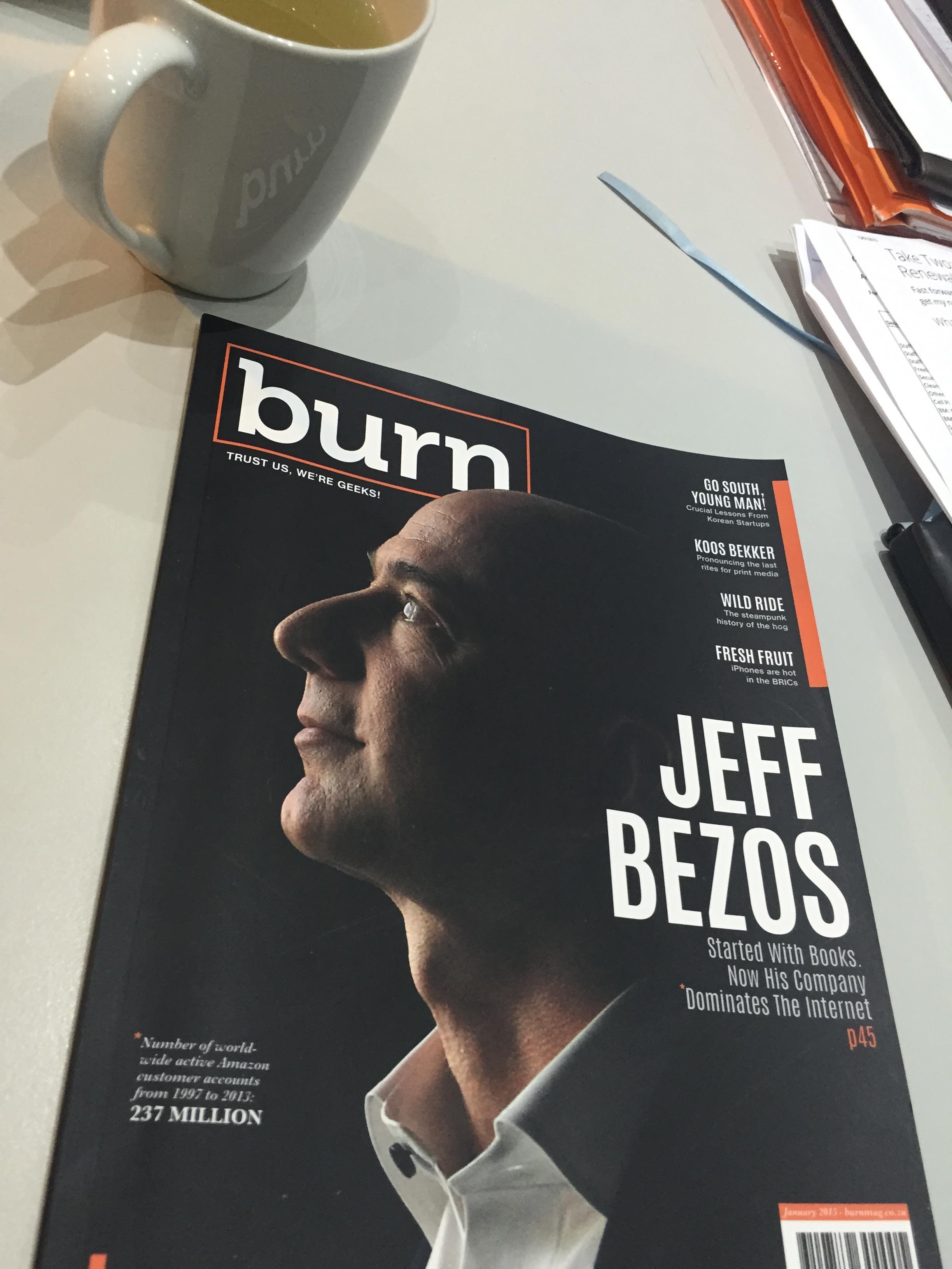 Burn magazine ()