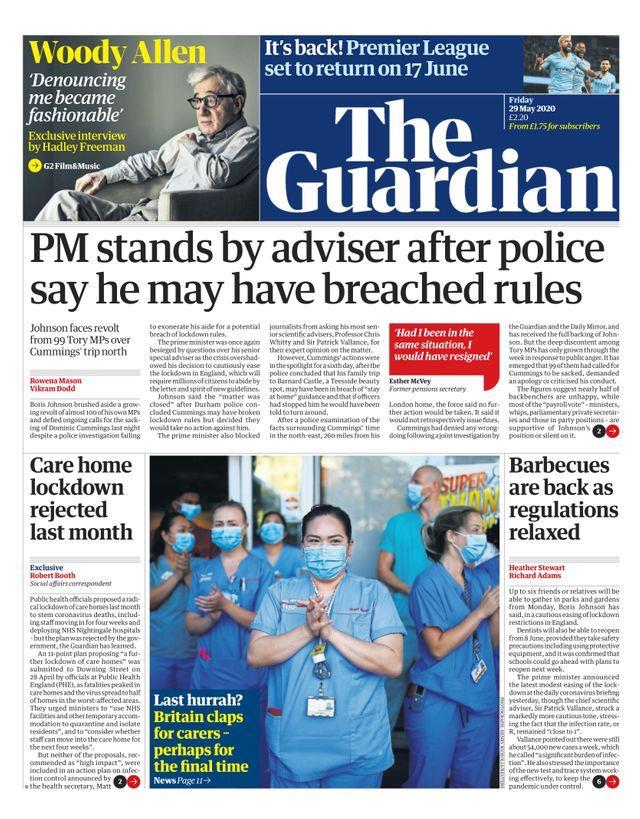 The Guardian cover ()