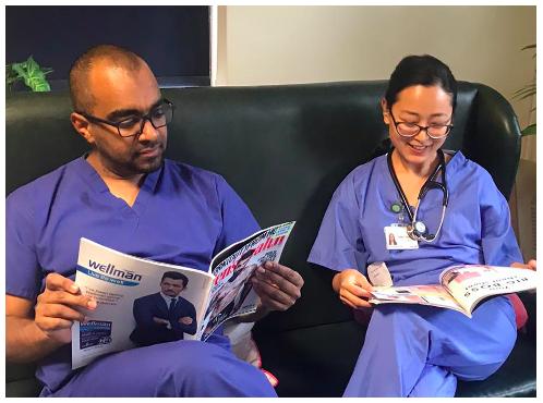 NHS reading print ()