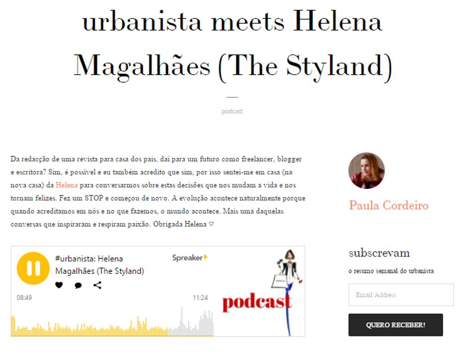 Urbanista podcast ()
