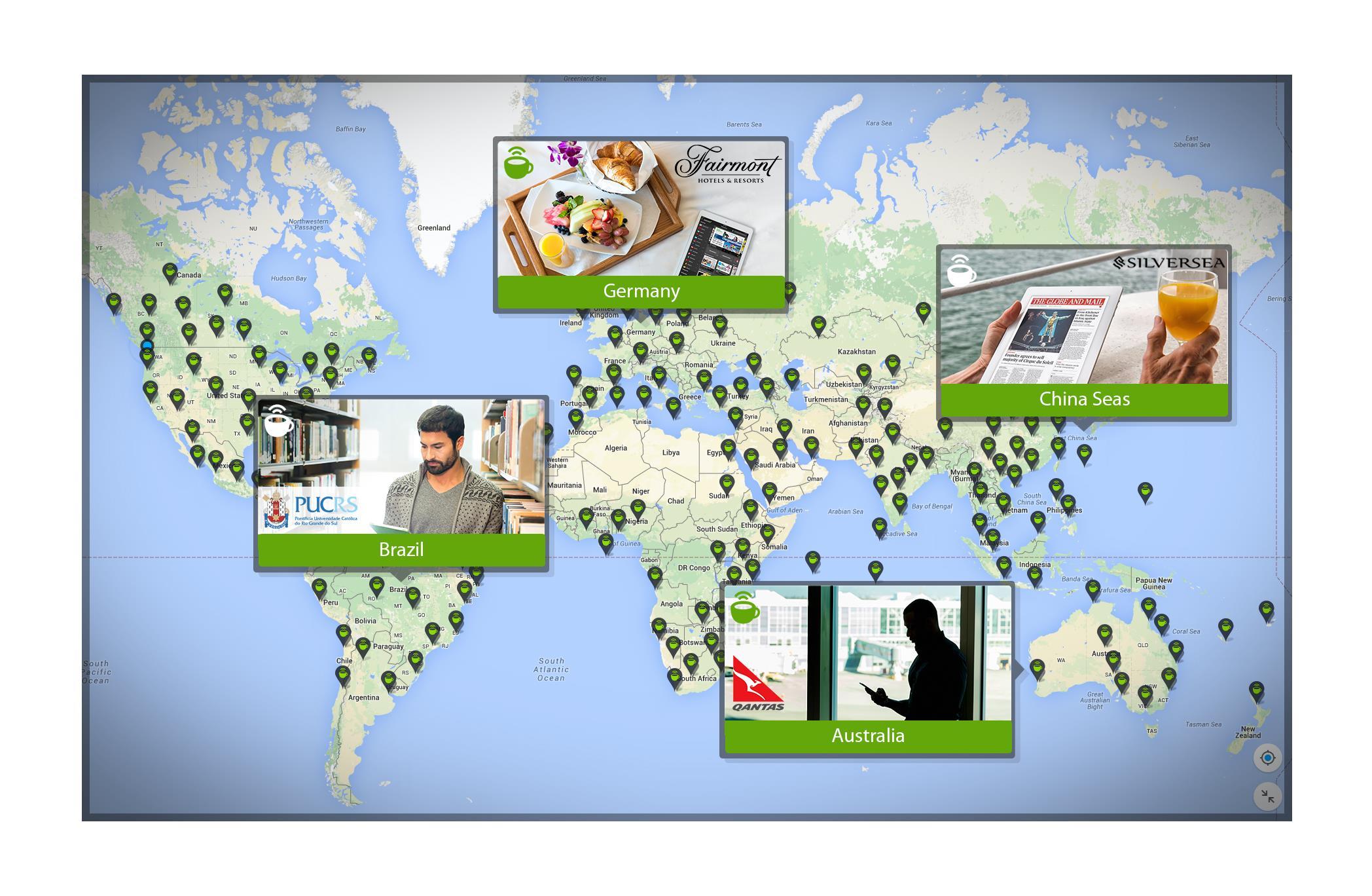 Hotspot map Fairmont ()