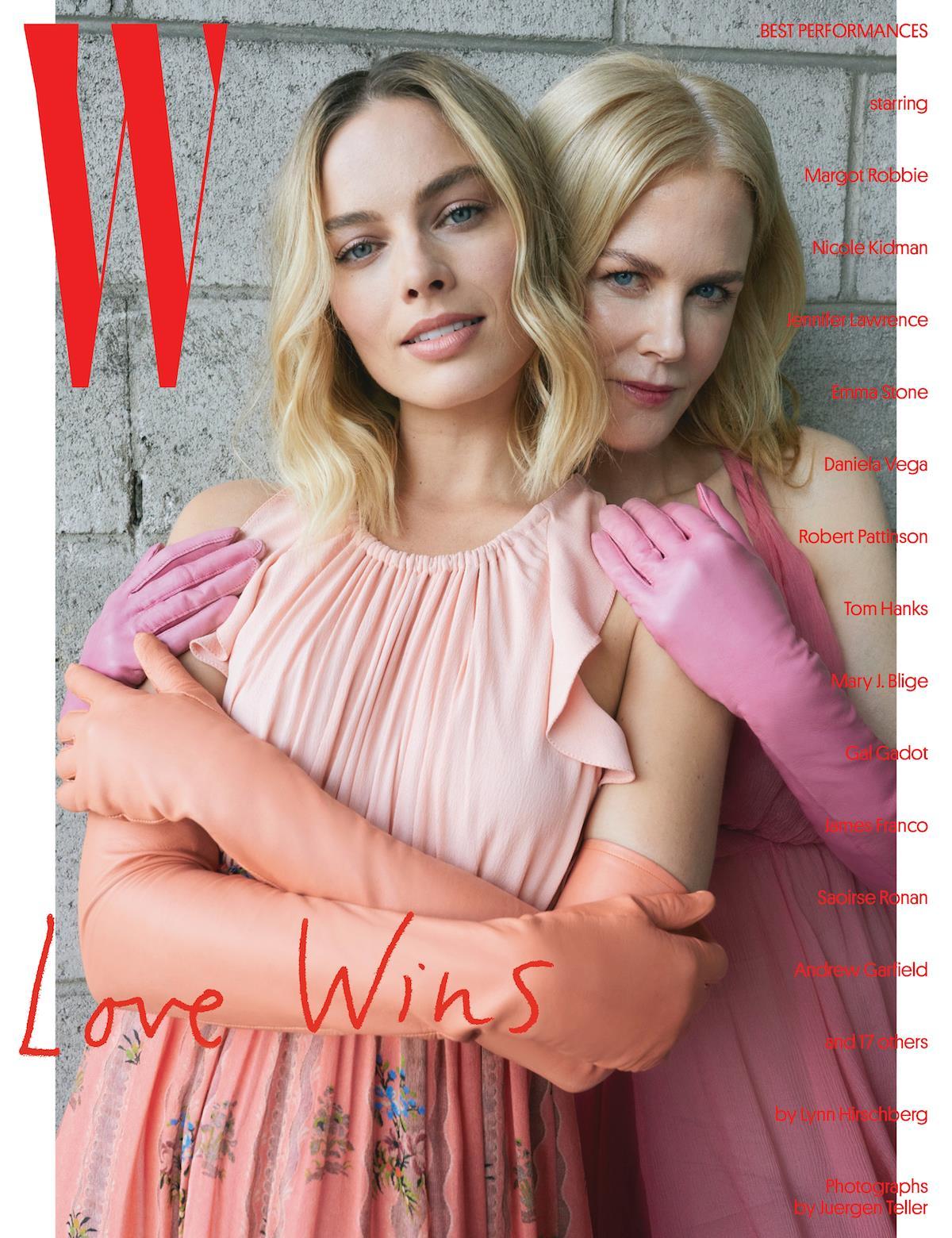 W magazine Kidman ()
