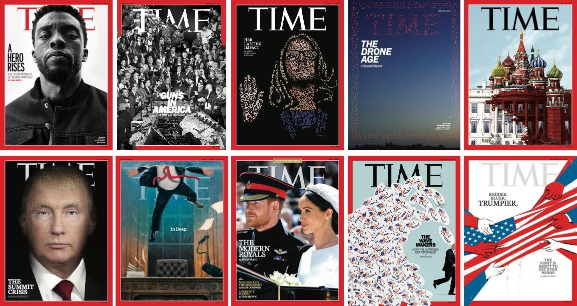 Time covers ()