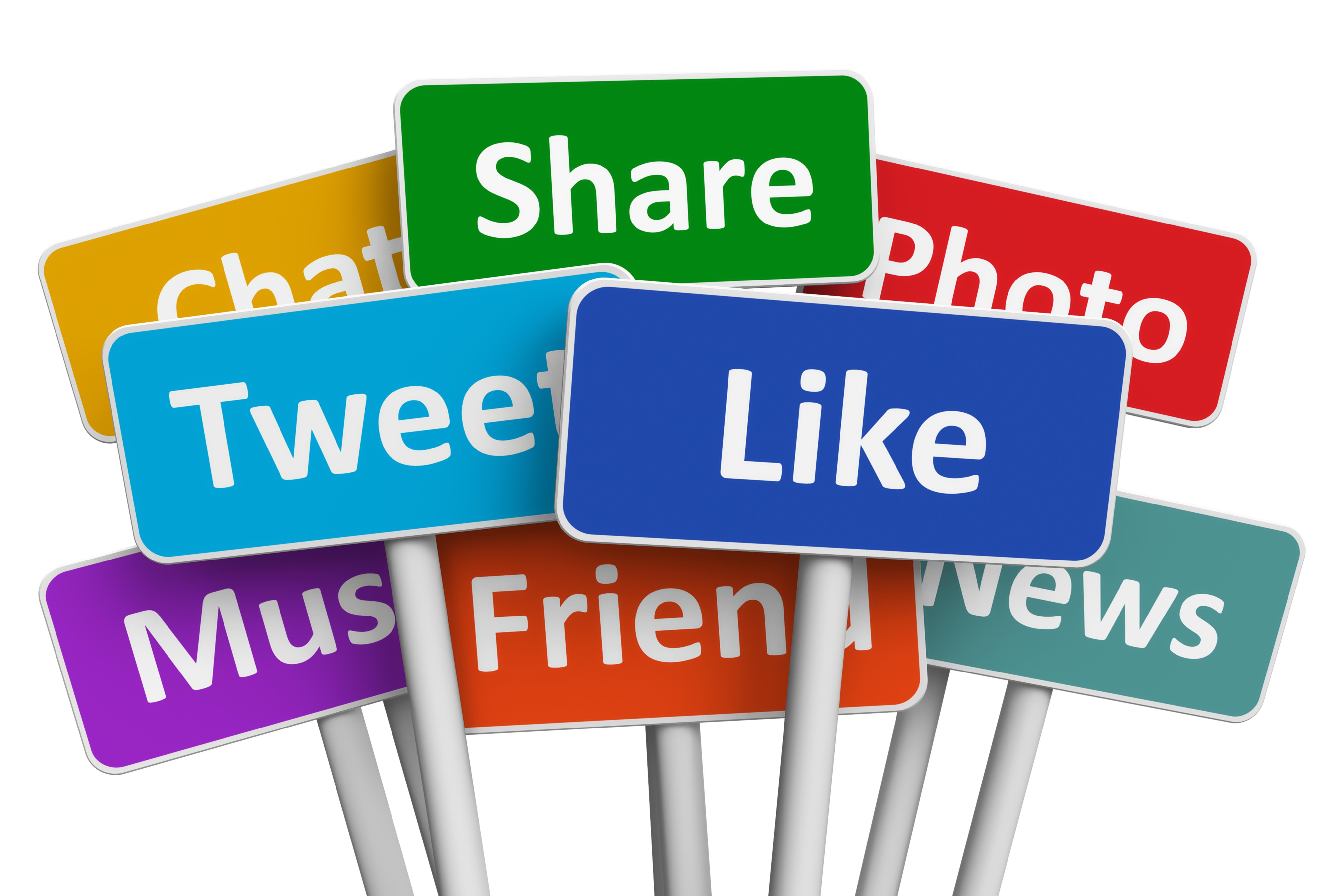 Social media noticeboards ()