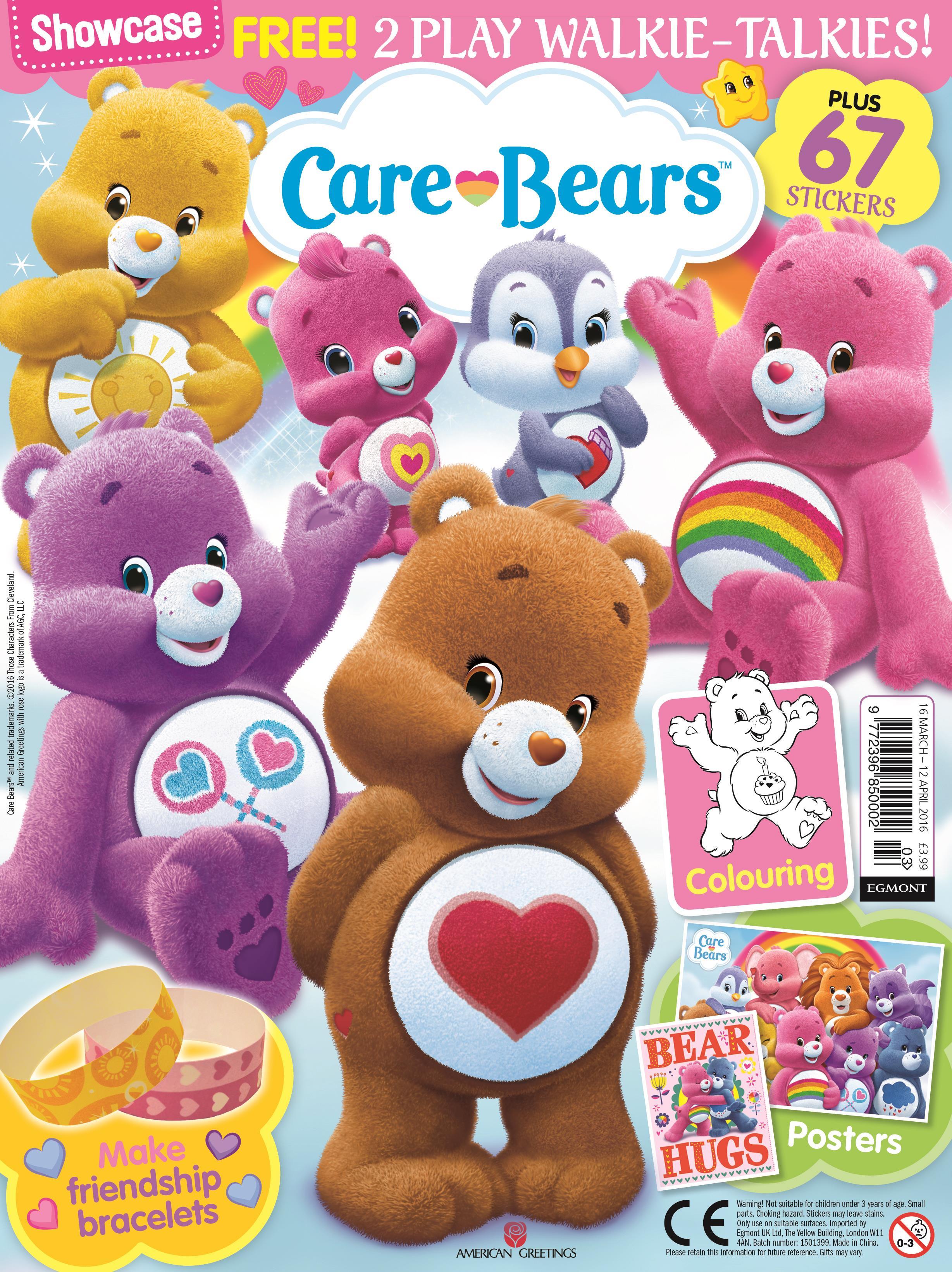 Egmont Publishing Launches Care Bears Edition Of Showcase Magazine