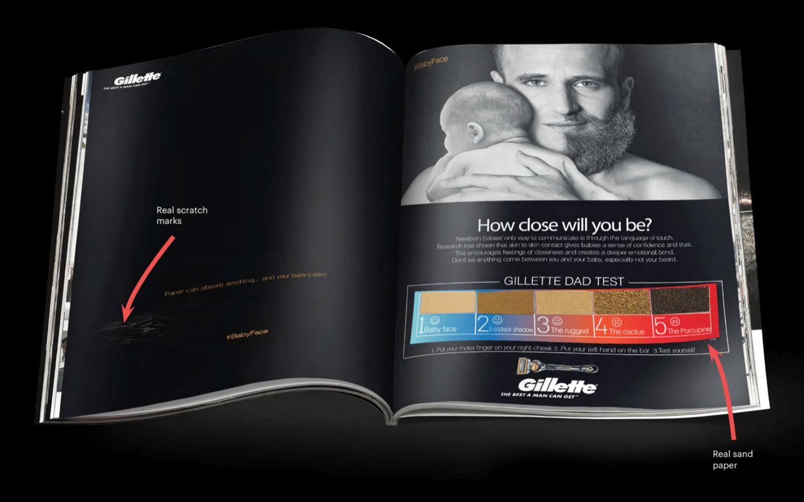 Gillette ad ()