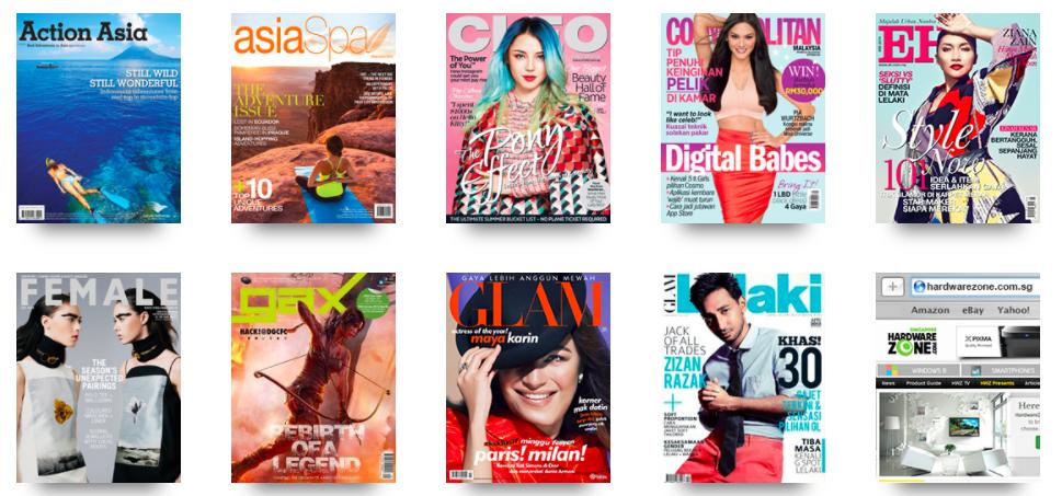 SPH Magazines brands ()
