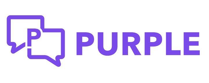 Purple logo ()