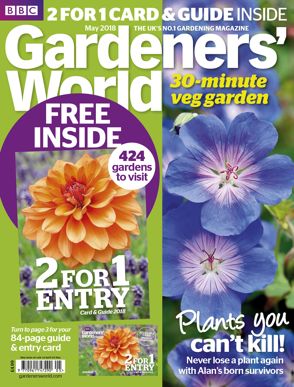 BBC Gardeners' World's May issue becomes the biggest revenue
