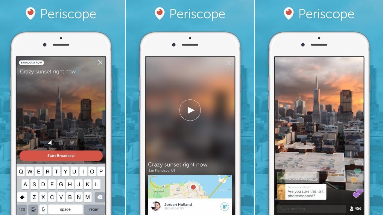 Live video on smartphones ()