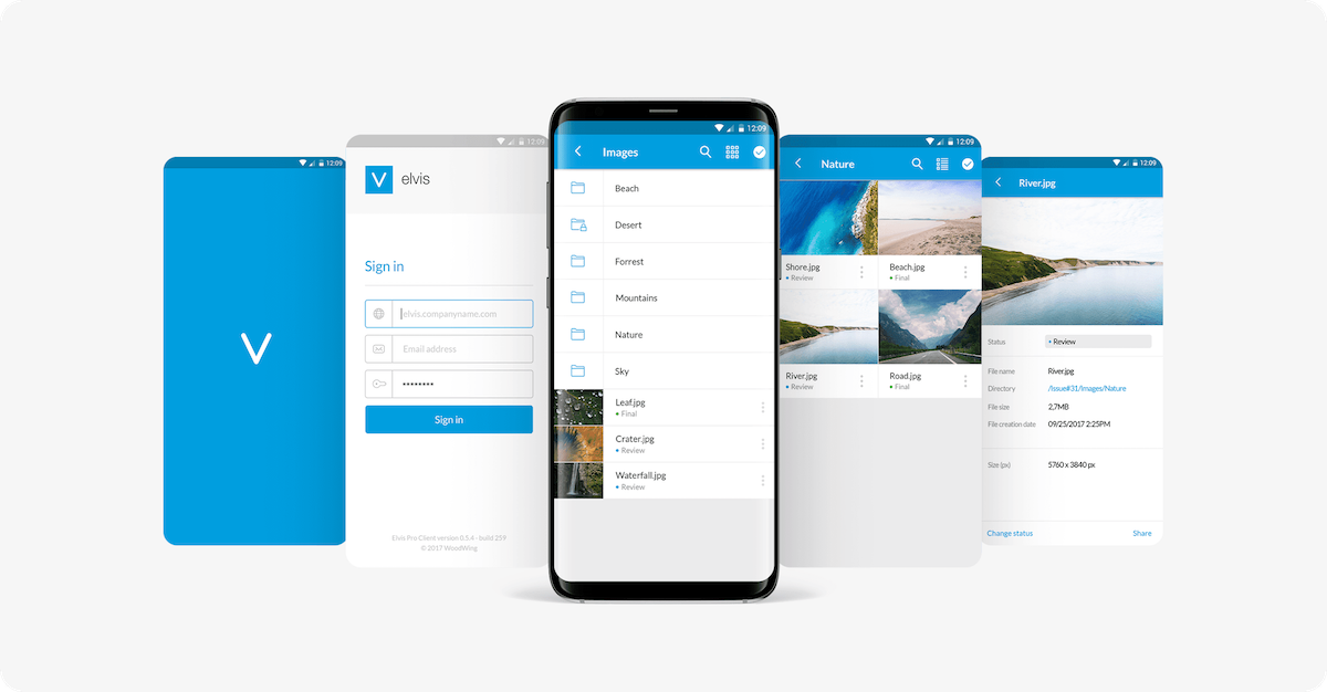 WoodWing mobile app ()