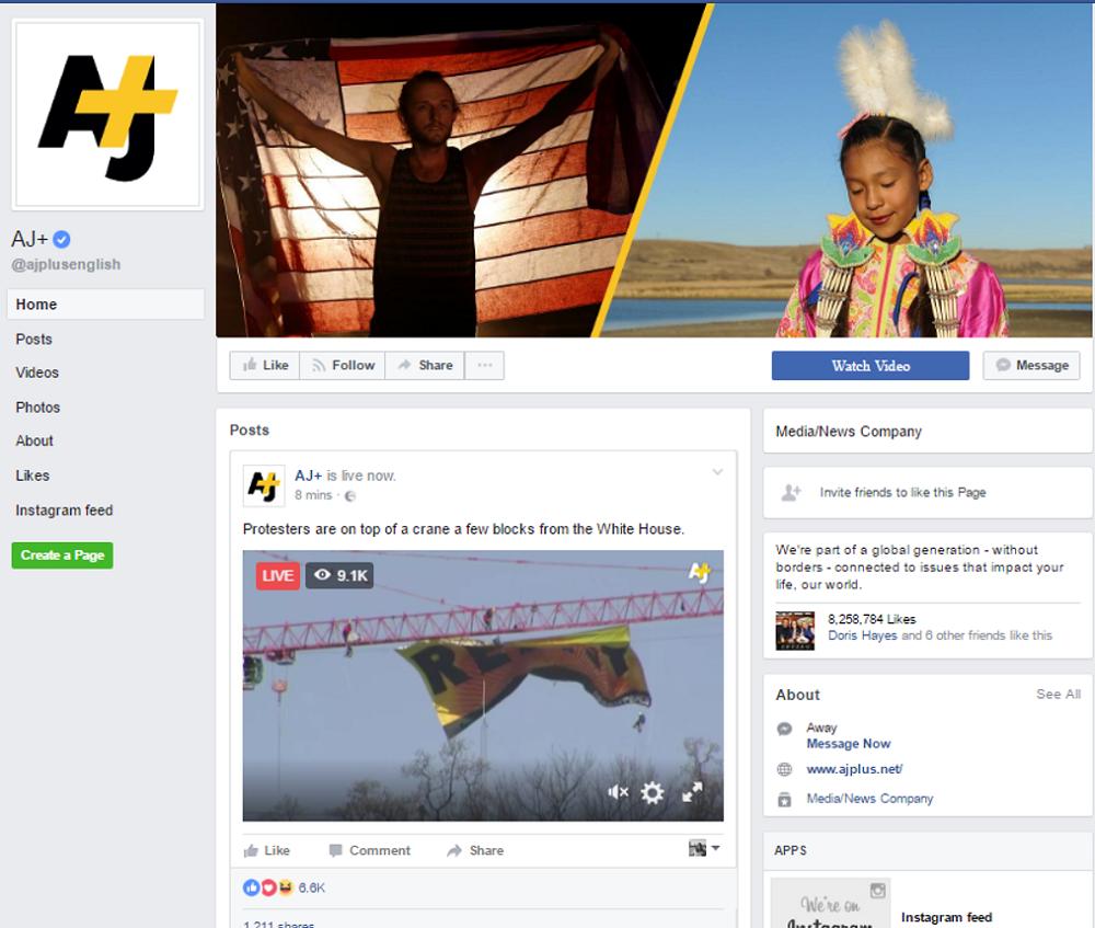 AJ+ facebook ()