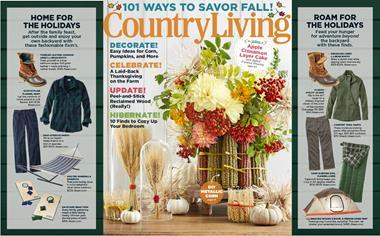 Country Living cover ()