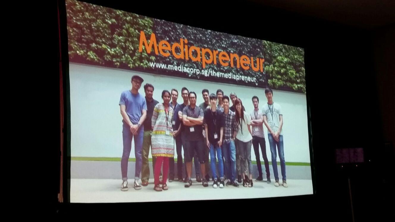 Mediacorp incubator ()