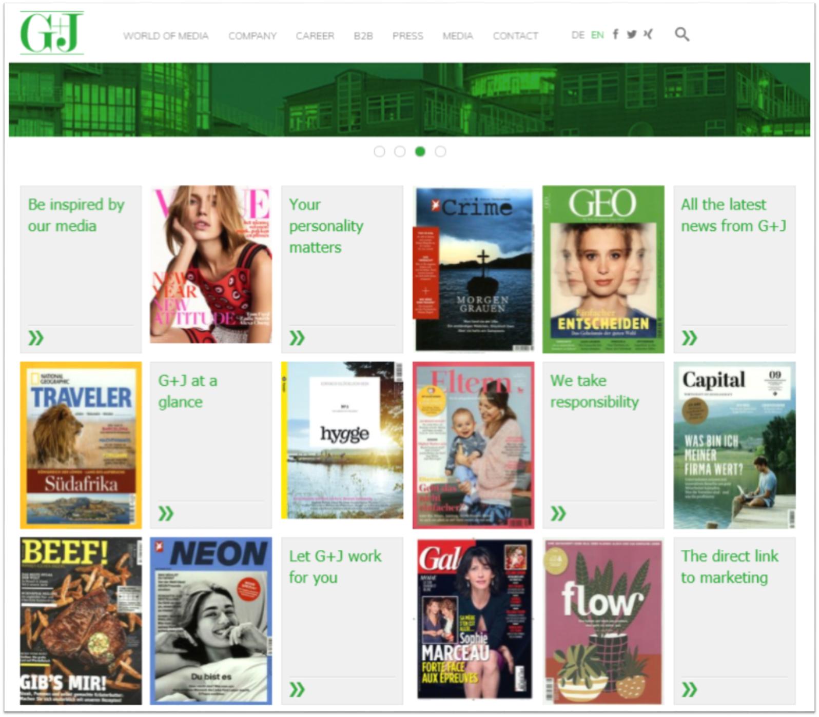 G + J homepage ()