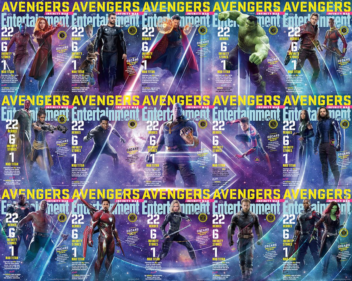 Avengers cover composite ()